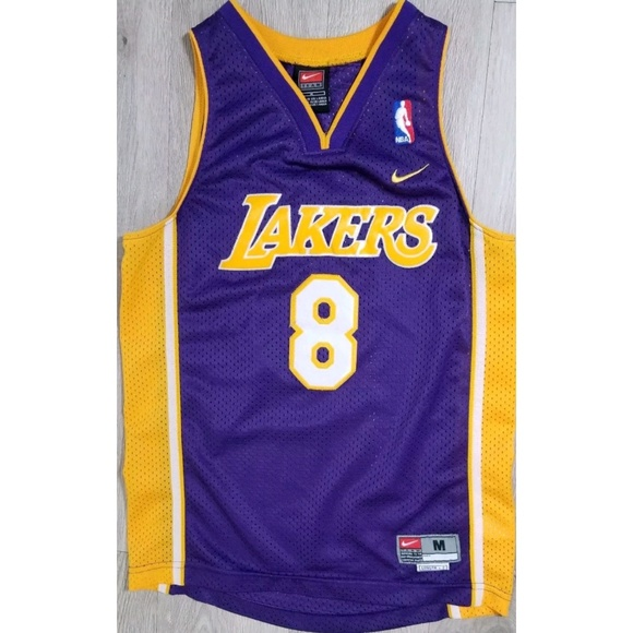 release date 0dafc d5779 Vintage Nike Lakers Kobe Bryant #8 Purple Jersey